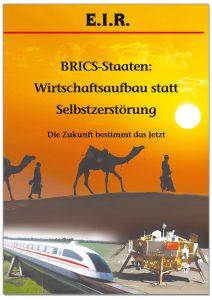 """Deckblatt """"BRICS-Staaten: Wideraufbau statt Selbstzerstörung"""""""