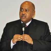 Mehreteab Mulugeta Haile, Generalkonsul der Demokratischen Volksrepublik Äthiopien, Frankfurt.