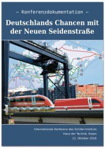 """Deckblatt E.I.R.-Sonderbericht """"Deutschlands Chancen mit der Neuen Seidenstraße"""""""
