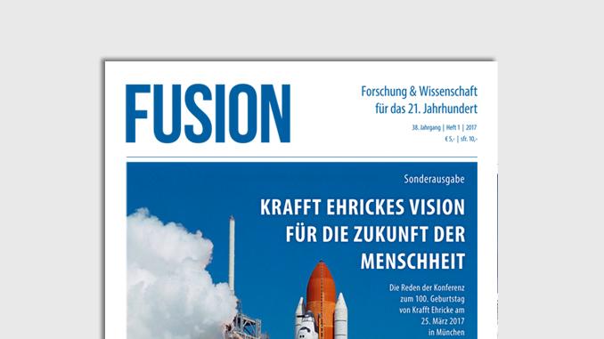 Präsentation Deckblatt FUSION-Ausgabe 01/2017